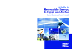 A guide to renewable energy in Egypt and Jordan