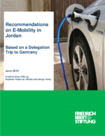 Recommendations on E-Mobility in Jordan