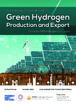 The risks and opportunities of green hydrogen production and export from the MENA region to Europe