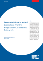 Democratic reform in Jordan?