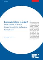 Democratic reform in Jordan?
